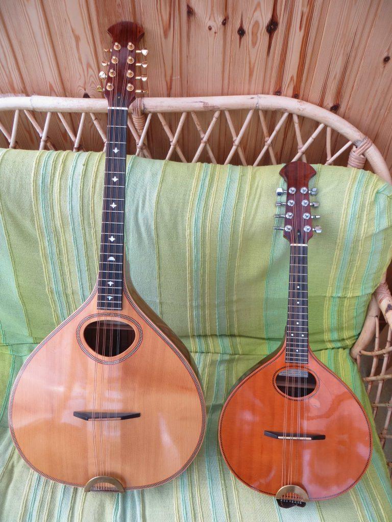 Kevin Macleaod's Sobell mandolin and Octave mandolin