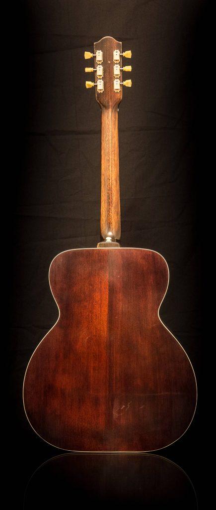 mahogany back and sides