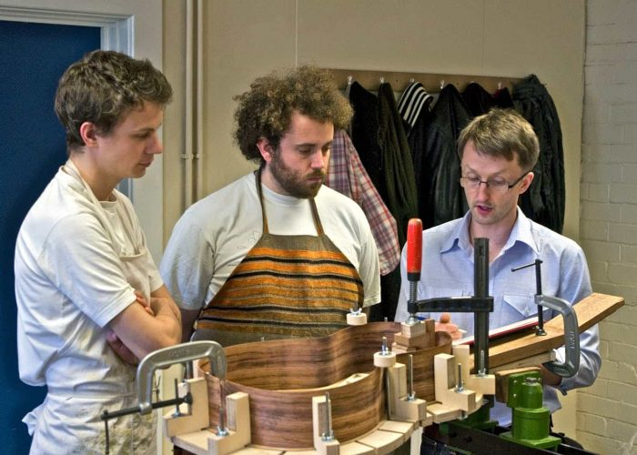 A day at the Newark College guitar making course