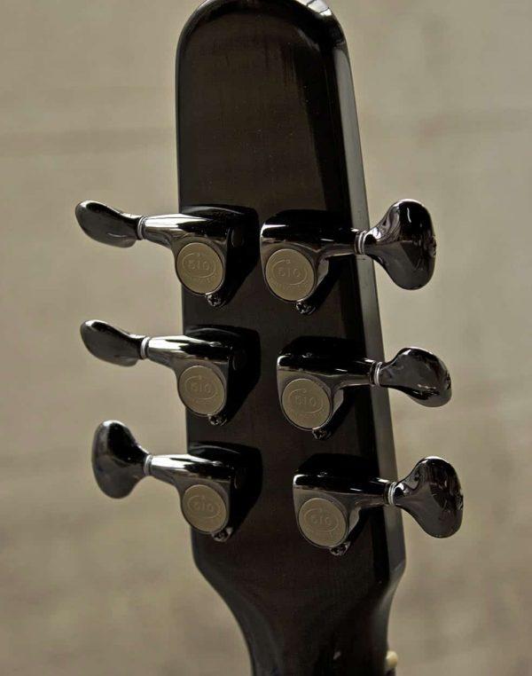 oscar - fine archtop guitar headstock