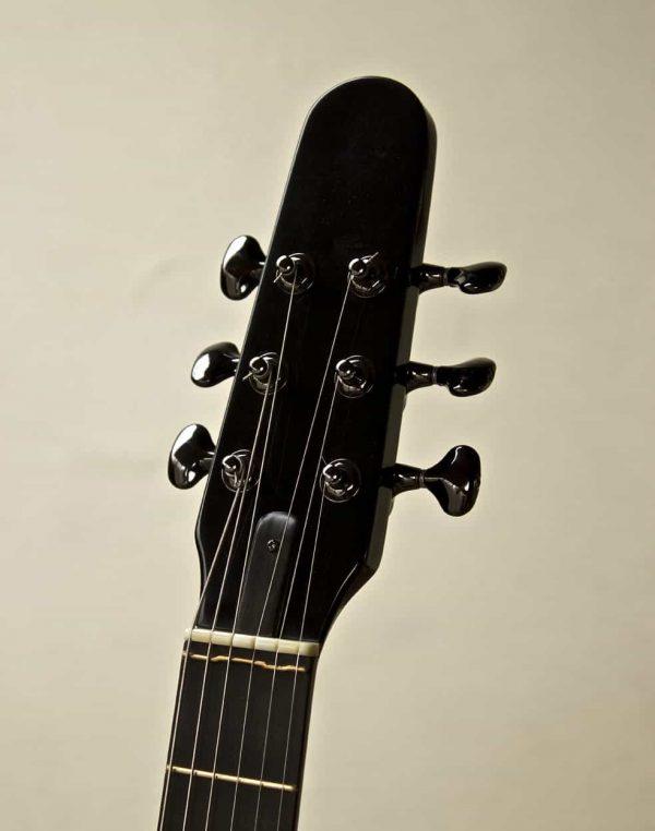 oscar - modern archtop guitar headstock