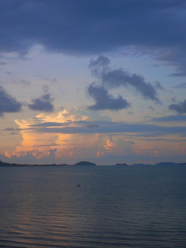 Cambodian skies