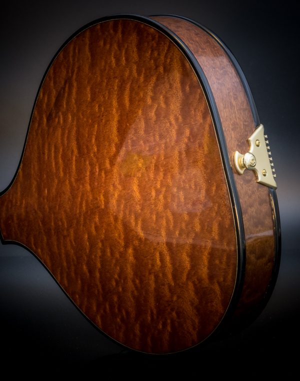 sapele mandolin back