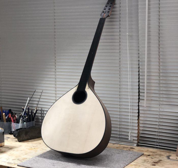 Irish Bouzouki build thread 7: binding, fretboard, neck