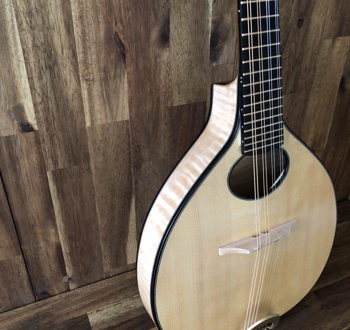 New Celtic mandolin prototype