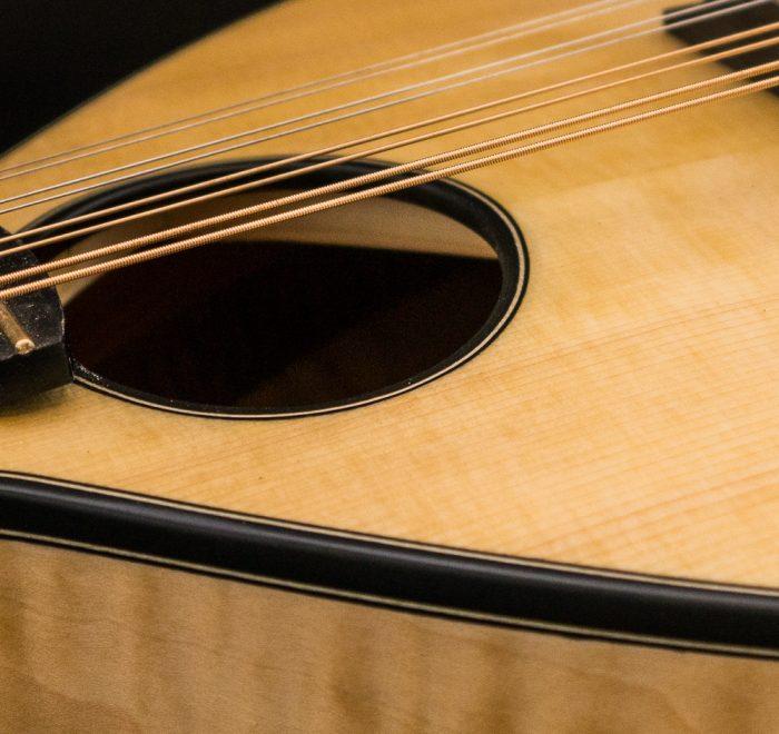 Small Celtic O mandolin available now